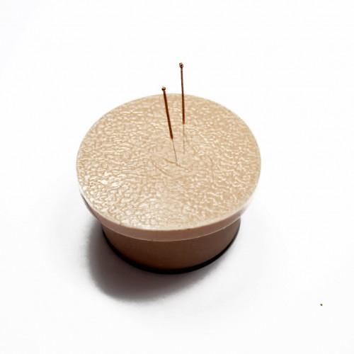 Coussin de pratique en silicone pour l'acupuncture