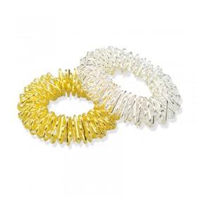 Bracelet pour massage chromé