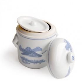 Pot en porcelaine pour décoction