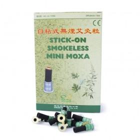 Cônes de mini moxa sans fumée / support en carton
